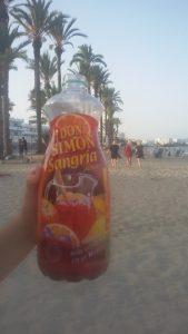 platja d'en Bossa Ibiza sangria