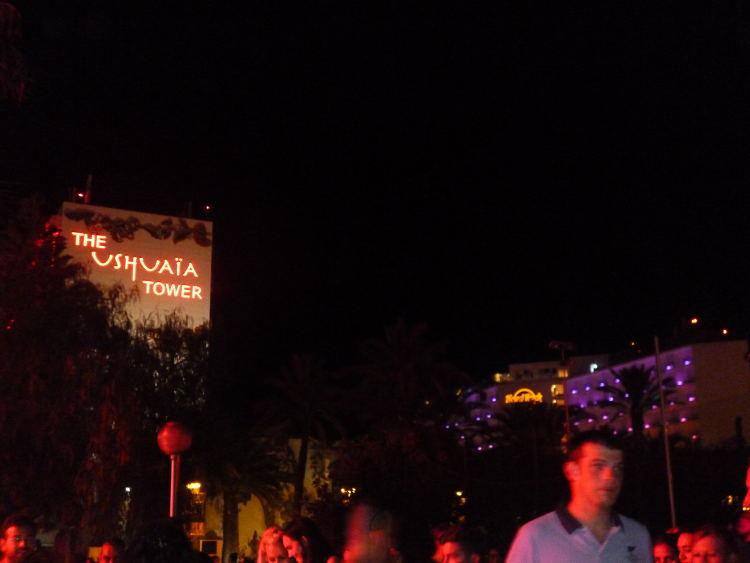 ushuaia tower discoteca ibiza